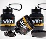 Portable Protein & Supplement Powder Keychains