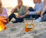 Qdo Birdie Swing Nest - Tea Cup with Infuser & Lid