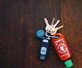 Refillable Sriracha Keychain
