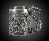 Serpentine Dragon Mug