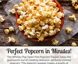 Shake & Pop Outdoor Popcorn Popper