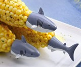 Shark Corn Holders