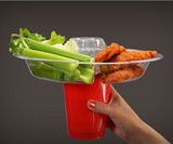 The Go Plate with Red Solo Cup