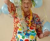 The Money Cake - Cash-Filled Cake Topper