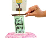 The Money Cake - Cash-Filled Cake Topper