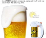 Ultrasonic Beer Can Foamer