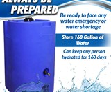 WaterPrepared Emergency Water Storage Tank