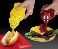 Oozy Monster Ketchup & Mustard Tops