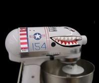 Standing Mixer Shark Plane Decals