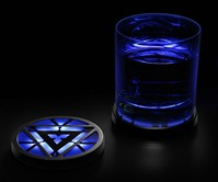 Iron Man 3 Arc Reactor Coasters