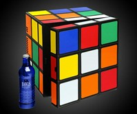 Rubik's Cube Mini Fridge