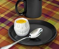 Skull Hard Boiled Egg Mold
