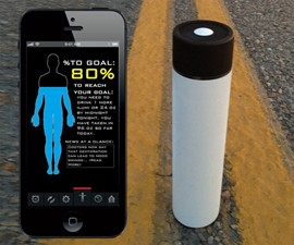 ILUMI Hydration Tracking Smartbottle