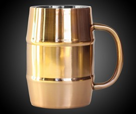 Insulated Copper Beer Mug