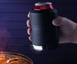 Nite Ops Can Cooler with LED Light