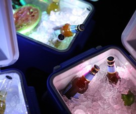 LiddUp Illuminated Cooler