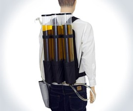 Triple Beverage Dispenser Backpack