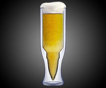 50 Caliber Bullet Beer Glass