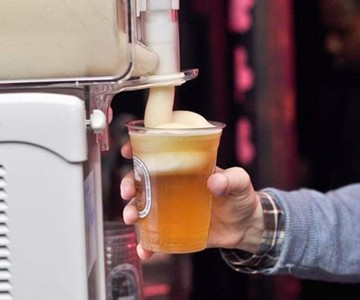 Beer Head Slushie Machine