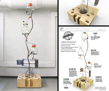 Beer Tree Gravity-Fed Home Brewer