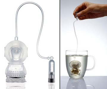 Deep Tea Diver Tea Strainer