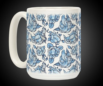 Flowering Penis Coffee Mugs