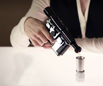 Han Solo DL-44 Blaster Flask Prototype