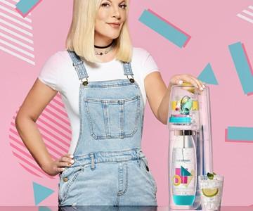 "SodaStream ""Tori"" 90s-Themed Sparkling Water Maker"