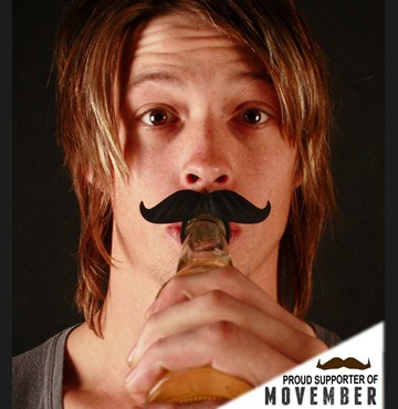 Beermo Bottle Mustache