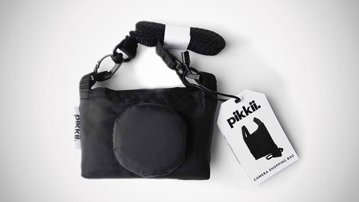 Retro Camera Foldable Shopping Bag