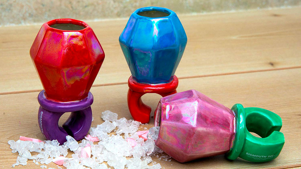 Ring Pop Shot Glass Set