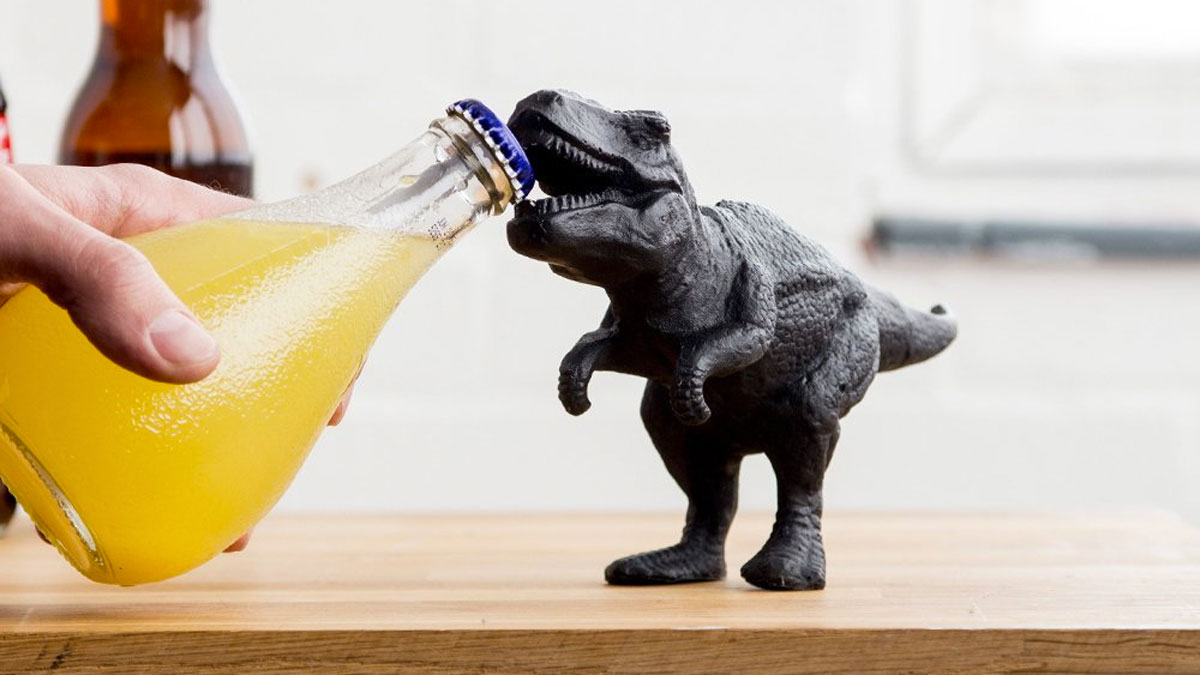T-Rex Bottle Opener