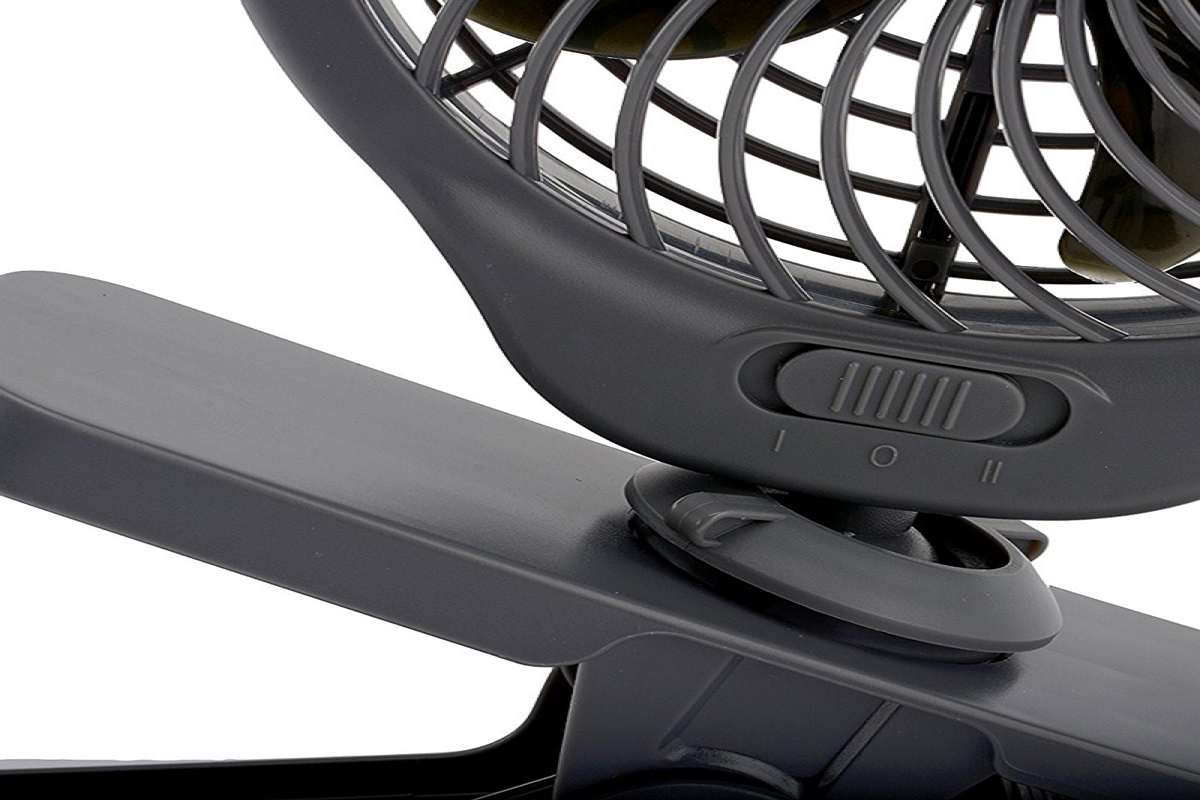 Battery Operated Clip On Fan For Car
