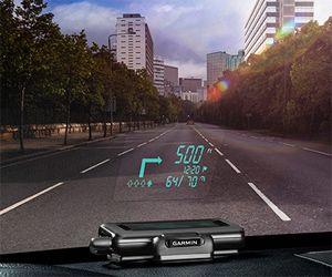 Garmin Head-Up Navigation Display