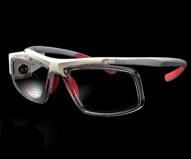 glassup smartphone hud eyeglasses dudeiwantthat