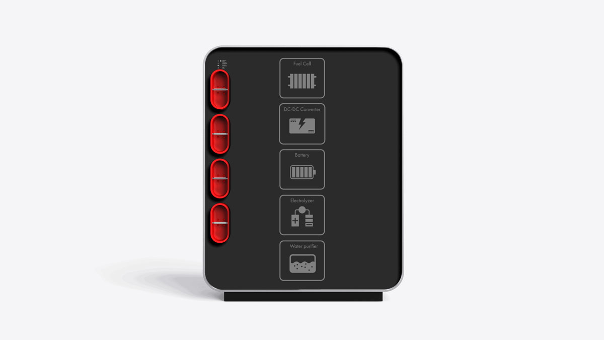 LAVO Hybrid Hydrogen Battery for Home & Office Power