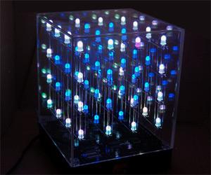 3D Light Show led cube - 3d light show | dudeiwantthat