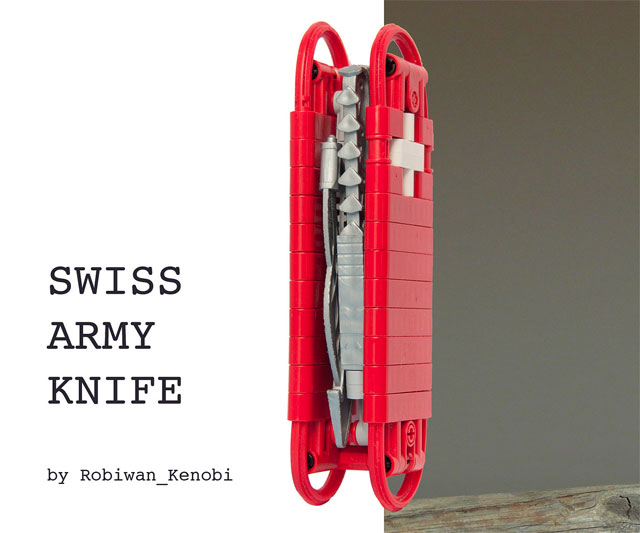 Lego Swiss Army Knife Dudeiwantthat Com