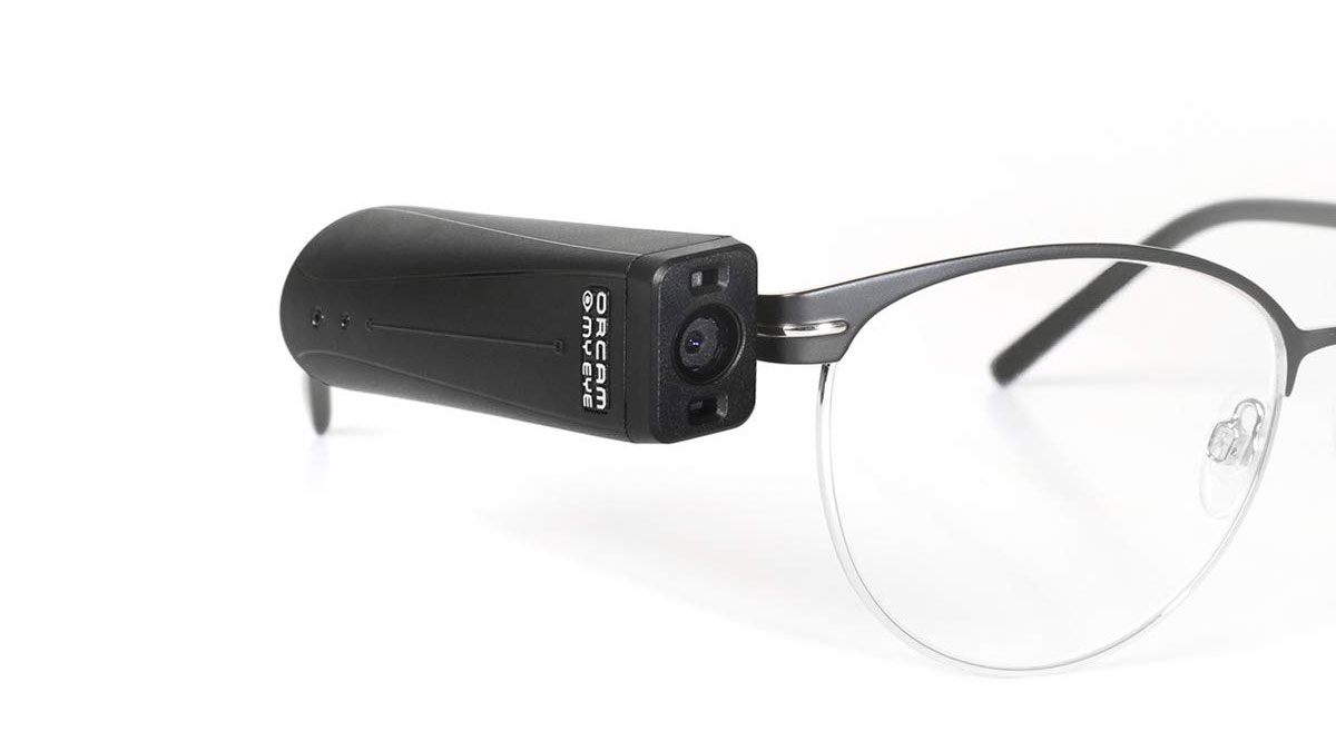 OrCam MyEye 2 for the Blind & Visually Impaired