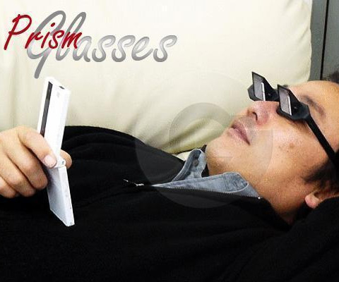 prism glasses for reading in bed dudeiwantthat