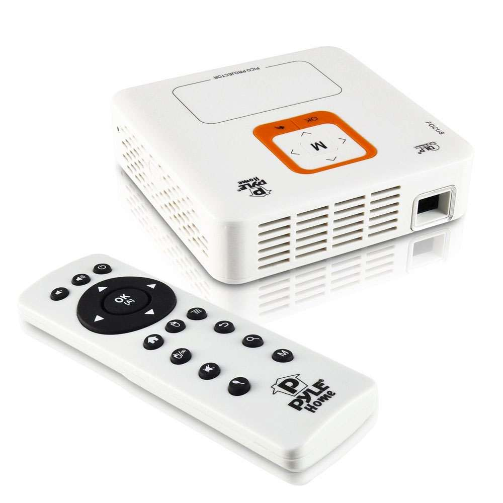 Pyle pocket projector with built in wifi for Pocket movie projector