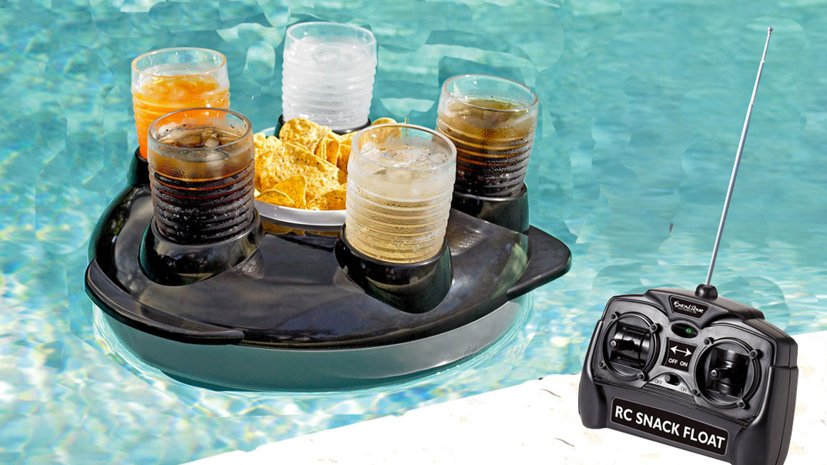 Remote Control Drink Float Dudeiwantthatcom