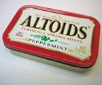 USB Gadget Charger Peppermint Altoids Tin