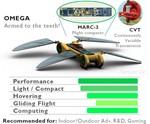 Robot Dragonfly - Omega Model