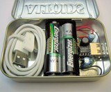 USB Gadget Charger Peppermint Altoids Tin