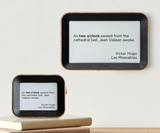 Author Clock - Literary Quote Time Display