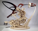 Colibri Mechanized Kinetic Hummingbird Sculpture