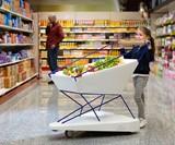 Ford Self-Braking Shopping Cart