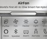 Haxson AirFan - Over-Bed Smart Fan Hybrid