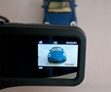 HDVR Rearview Mirror Car Accident Camera